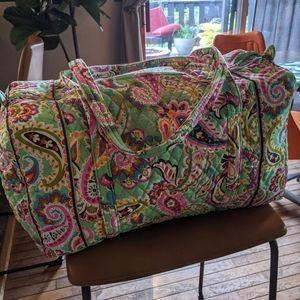 Vera Bradley retired Tutti Frutti duffle bag
